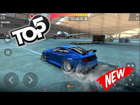 TOP 5 BEST CAR DRIFT GAMES Android & IOS 2018