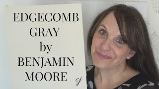 Edgecomb Gray Benjamin Moore