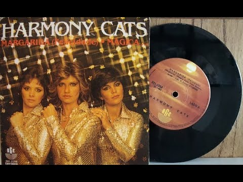 CD *** HARMONY CATS - THE SINGLES COLLECTION *** DISCO 70's *** CD-R !!!