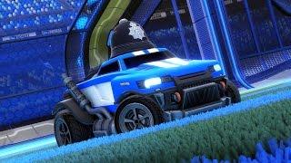 Rocket League ::: Custom Vehicle Themes ::: Emergency (Road Hog)