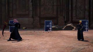 Kingdom Hearts III - Level 1 Luxord, Marluxia & Larxene No Damage w/Restrictions (Proud Mode)