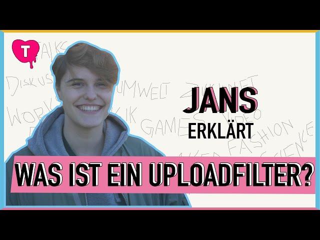 Vorschaubild zur Session 'Was ist ein Uploadfilter?'
