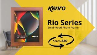Rio Classic Dark Oak Frame 360 video