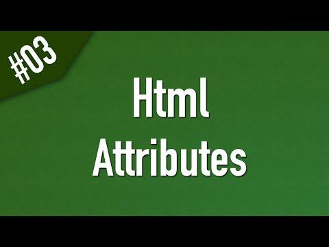 تعلم Html القائمة #1 الفديو #3