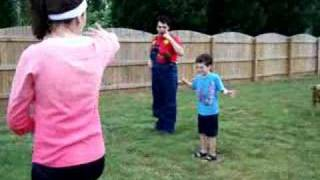 Rican Party Games (Mother May I)