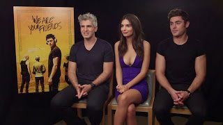 Zac Efron, Emily Ratajkowski & Max Joseph - We Are Your Friends Interview High Quality Mp3