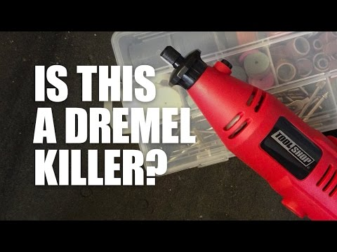 Tool Shop Rotary Tool Unboxing & Review. Is it a Dremel killer? – Woodworking Tools