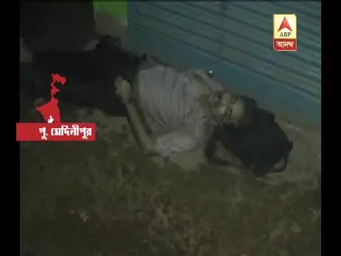 Again the inhuman picture of Panskura, Railway official's body lying on the station adjace
