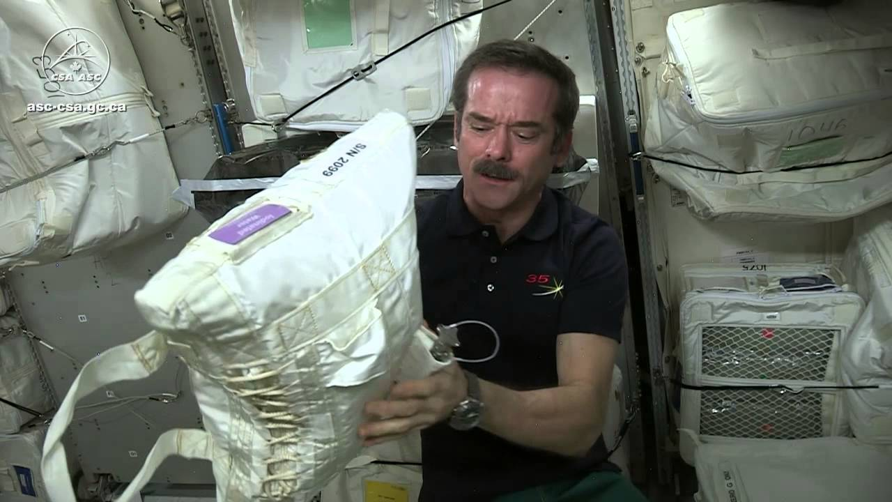 How Astronauts Turn Pee Into Drinking Water