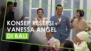 Video Resepsi Pernikahan Vanessa Angel Gelar Resepsi yang Tertutup di Bali