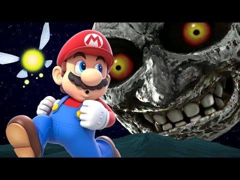 Crossover de Majora's Mask y Super Mario 64