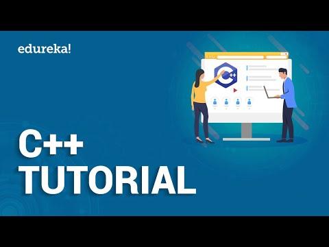 C++ Tutorial for Beginners | Learn C++ Programming Language | Introduction to C++ | Edureka