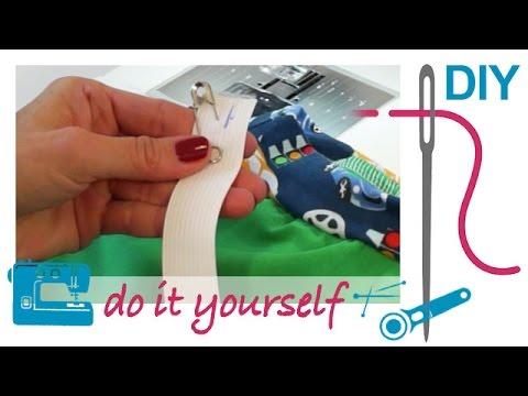 Nählexikon von A–Z – Gummiband einziehen – Nähen lernen mit Zierstoff