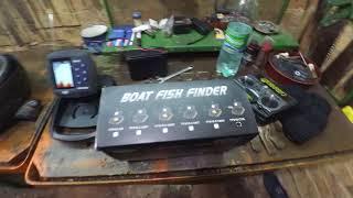Как установить эхолот на кораблик