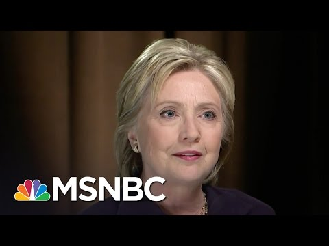 Hillary Clinton: Donald Trump Traffics In 'Prejudice & Paranoia' | Morning Joe | MSNBC