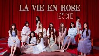 La Vie en Rose - IZ*ONE [Stage mix]