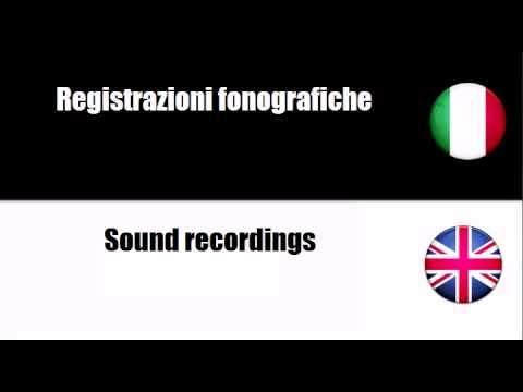 Imparare l'Inglese = Accessori di apparecchiature audio e video