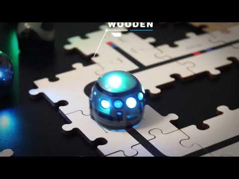 Programmeer de Ozobot met houten puzzels