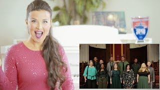 Vocal Coach Reacts to Voctave - Joy To The World/For Unto Us A Child Is Born