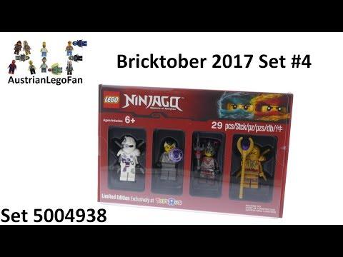 Vidéo LEGO Objets divers 5004938 : Bricktober 2017 LEGO Ninjago [Exclusive Minifigures  Toys'R'Us]