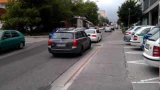 preview picture of video 'Prepadnutá komunikácia - Matejkova'