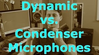 Condenser Microphone vs Dynamic Microphone