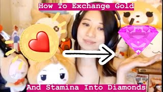 Love Nikki Guide: How To Exchange Your Gold & Stamina Into DIAMONDS