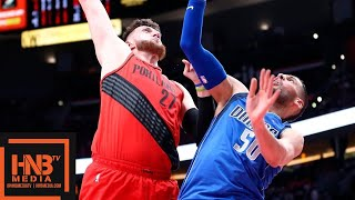 Dallas Mavericks Vs Portland Trail Blazers Full Game Highlights | March 20, 2018-19 NBA Season