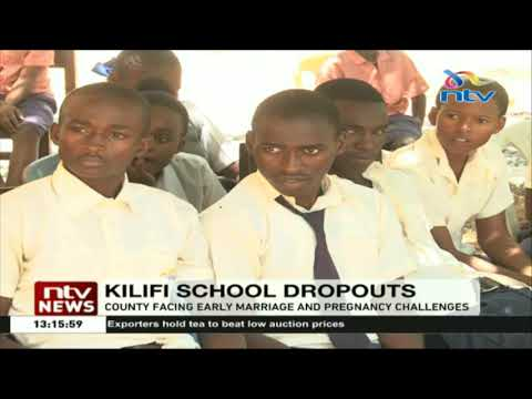 Kilifi County facing early marriage and pregnancy challenge