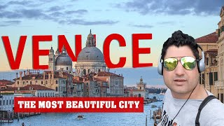 Venice City Tour Italy | Venice Italy Travel Vlog  | Europe Trip EP-28