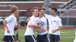 Highlights: Woodstock 2, East Lyme 0 in ECC boys' soccer final