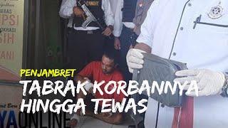 Penjambret Dihakimi Massa seusai Tabrak Korbannya hingga Tewas di Surabaya