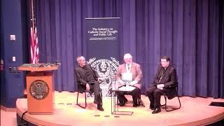 La presentazione di Disarming Beauty alla Georgetown University di Washington