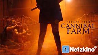 Escape from Cannibal Farm (gruseliger Horrorfilm auf Deutsch, kompletter Film, Film in voller Länge)