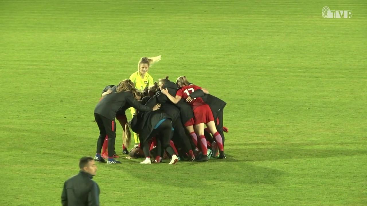 Mecz reprezentacji Polski kobiet u-19 w Sieradzu