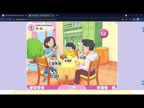 TIẾNG ANH 1 Unit 1 Lesson 3 + Unit 2 Lesson 1 Video 2 Tiết 3 4