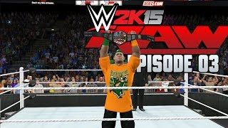 WWE 2K15 Universe Mode - Episode 3 - Monday Night Raw - (PS4/Xbox One Gameplay)