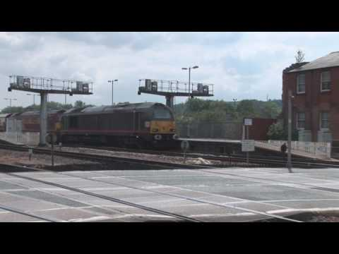 67006 'Royal Sovereign' & 67022 at Exeter St Davids with the…
