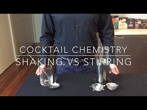 The Differences Between Shaking And Stirring A Cocktail