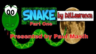 SNAKE by D.H.Lawrence PART ONE TUTORIAL FOR CBSE CLASS 10