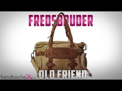 Fredsbruder - Old Friend Ledertasche