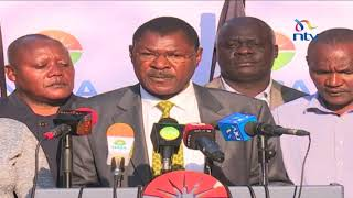 Anti-IEBC demos on as Nasa trains gun on Safaricom - VIDEO