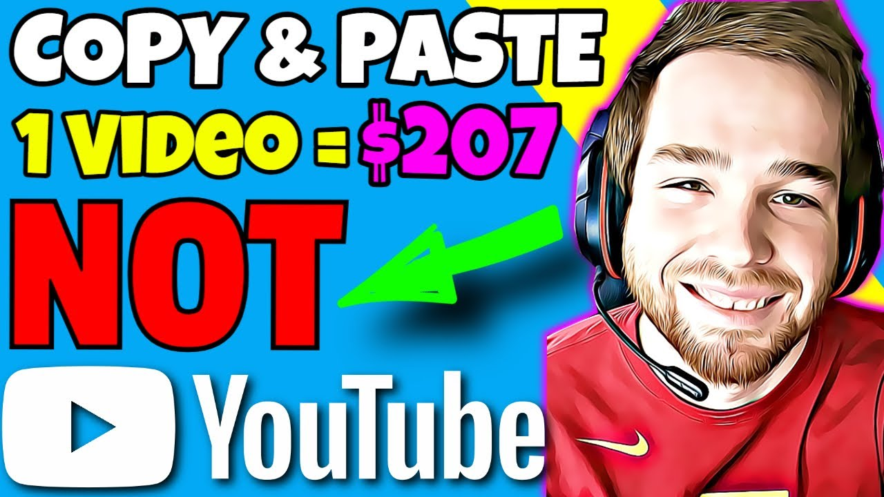 Copy And Paste Videos & Generate Income Online (NOT YouTube) Generate Income On YouTube Without Making Videos thumbnail