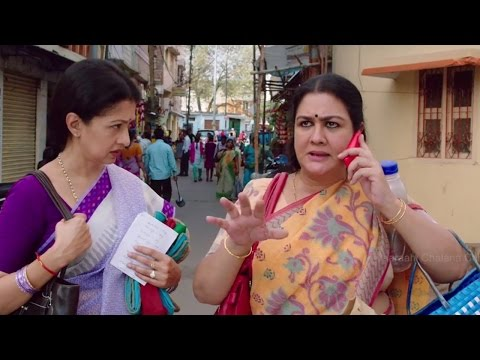 Gautami and Urvasi Funny Scene for Saving Money Provision Purchase - Manamantha - Mohanlal