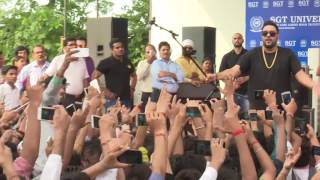 "Wakhra Swag ""Badshah"" At SGT University"