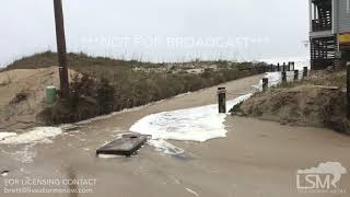 Winter Storm Diego December 10, 2018 Rodanthe, NC Coastal Flooding -Erosion