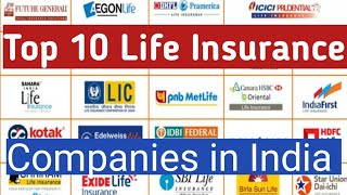 Top 10 Life Insurance Company in India