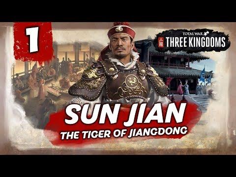 THE TIGER OF JIANGDONG RISES! Total War: Three Kingdoms - Sun Jian - Romance Campaign #1