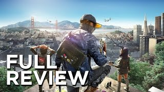 Watch Dogs 2 Full Review - Do You Even Care?