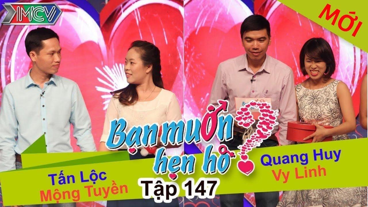 BẠN MUỐN HẸN HÒ #147 UNCUT | Tấn Lộc - Mộng Tuyền | Quang Huy - Vy Linh | 060316 💖